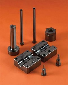 Mold Components With DLC Coating